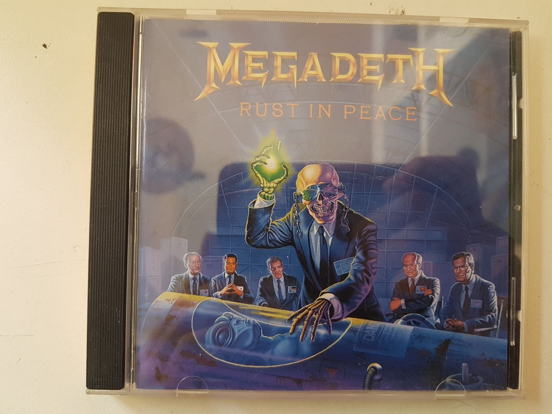 Megadeth Rust In Peace Cd Megadeth – Rust in P...